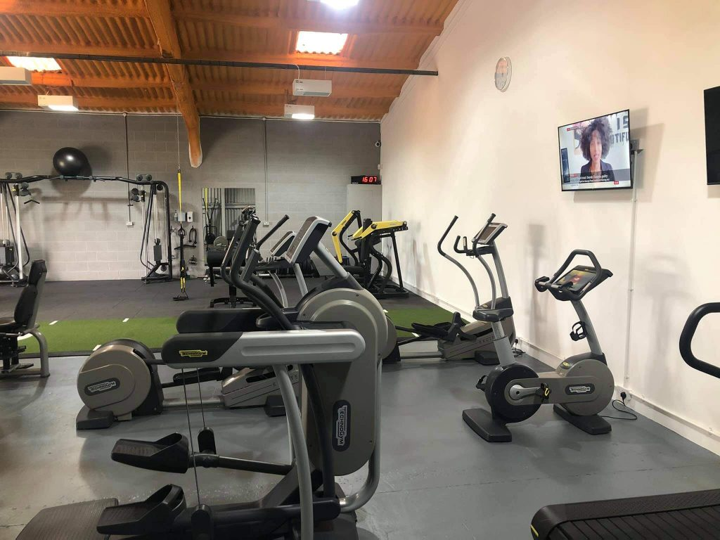 Picture of gym equipment in farndon near chester